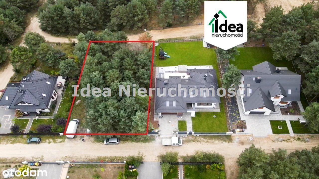 Bydgoszcz-Działka budowlana w otoczeniu lasu 1010m