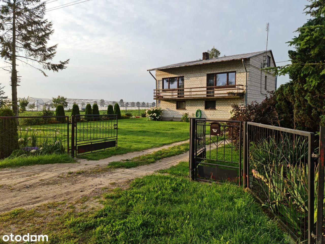 Dom 200 m2 z działką rolną 1,1316 ha przelicz.