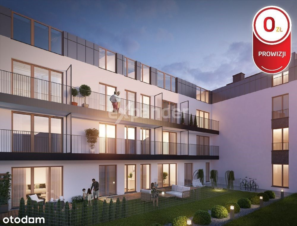 3pok. 65 m2, balkon, parking - blisko centrum !