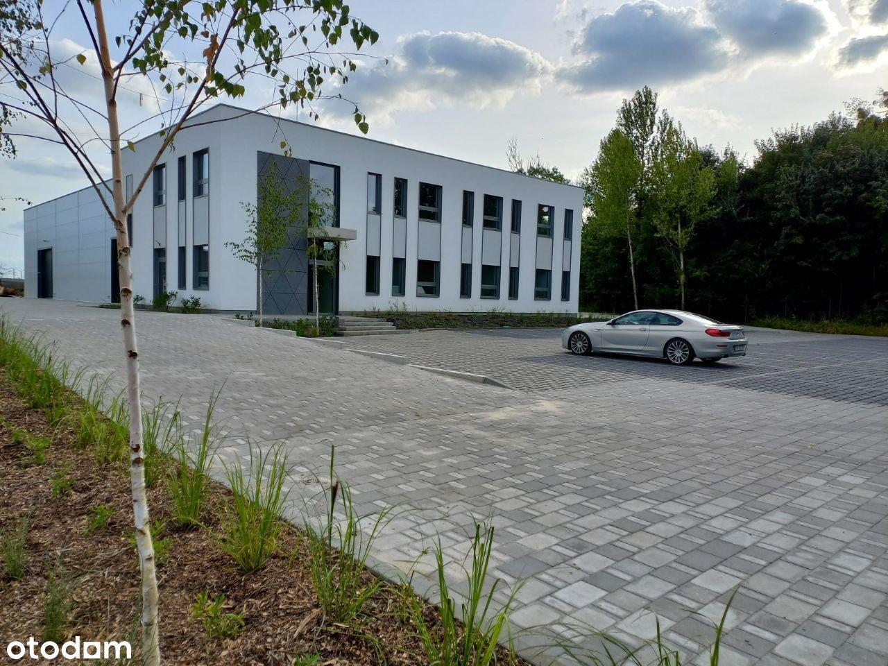 Nowy budynek biurowo magazynowo warsztatowy