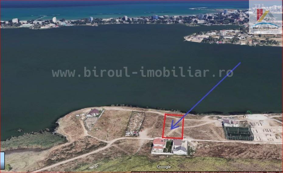 teren pentru constructie Palazu Mare pe malul lacului