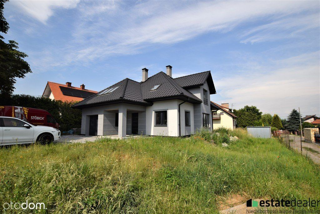 Dom do wykończenia 218m2 6 pok garaż Kraków Glinik