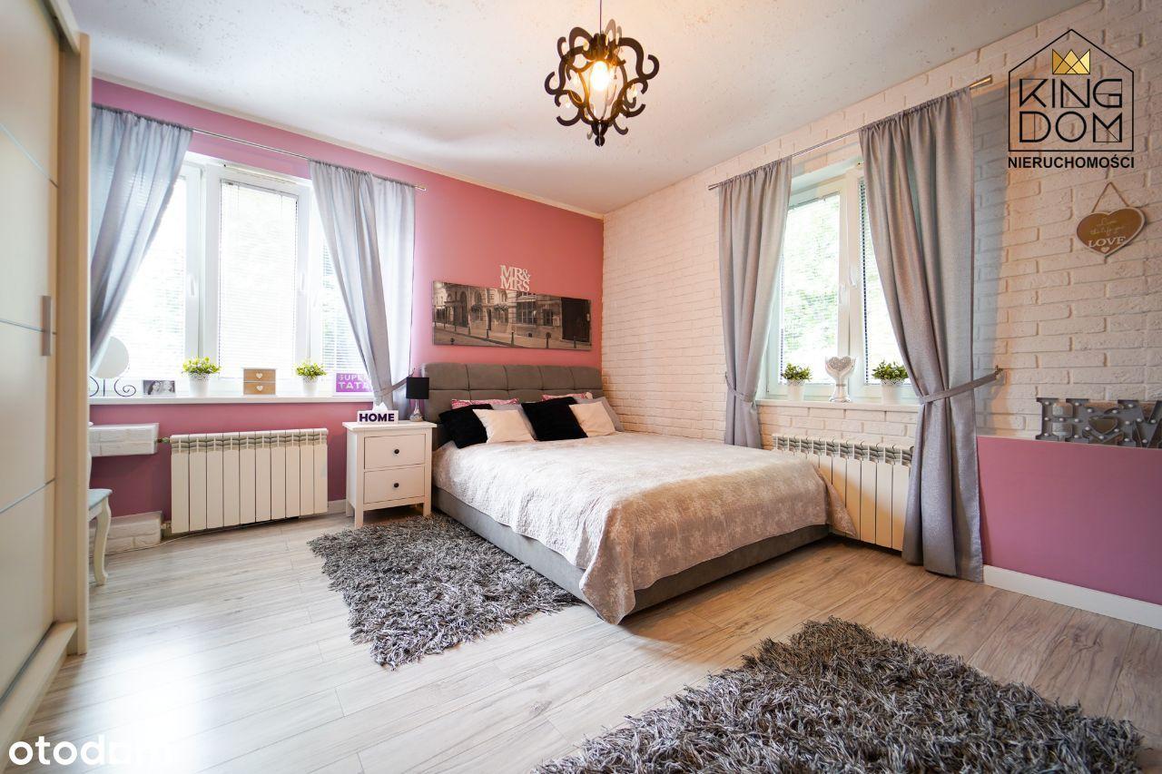 Komfortowe, duże 3 pokojowe mieszkanie z ogródkiem