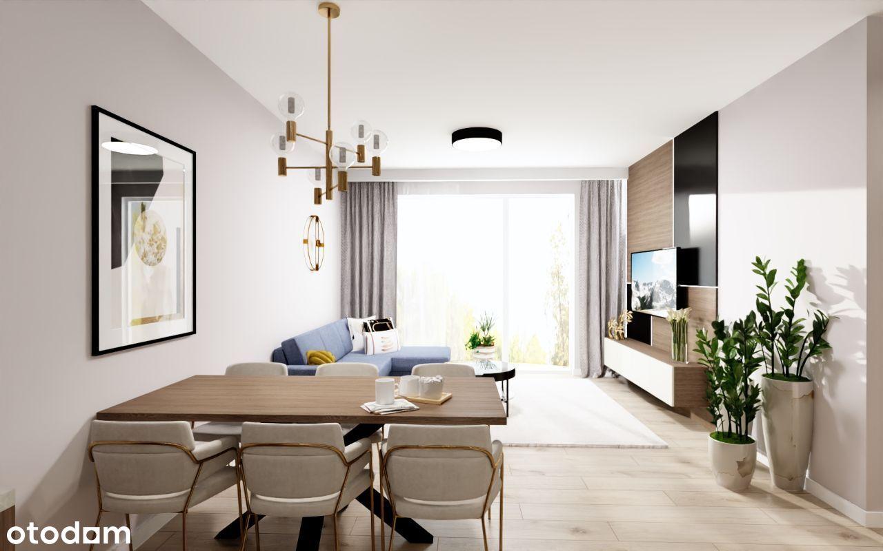 Nowe mieszkanie wykończone pod klucz 64,1m2