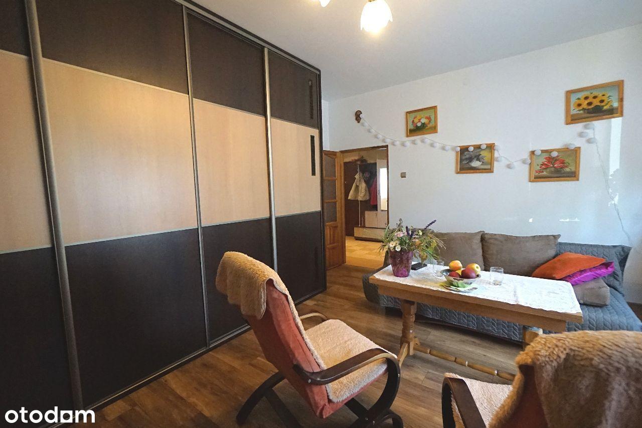 Ładne mieszkanie z ogródkiem i garażem, Trynek!