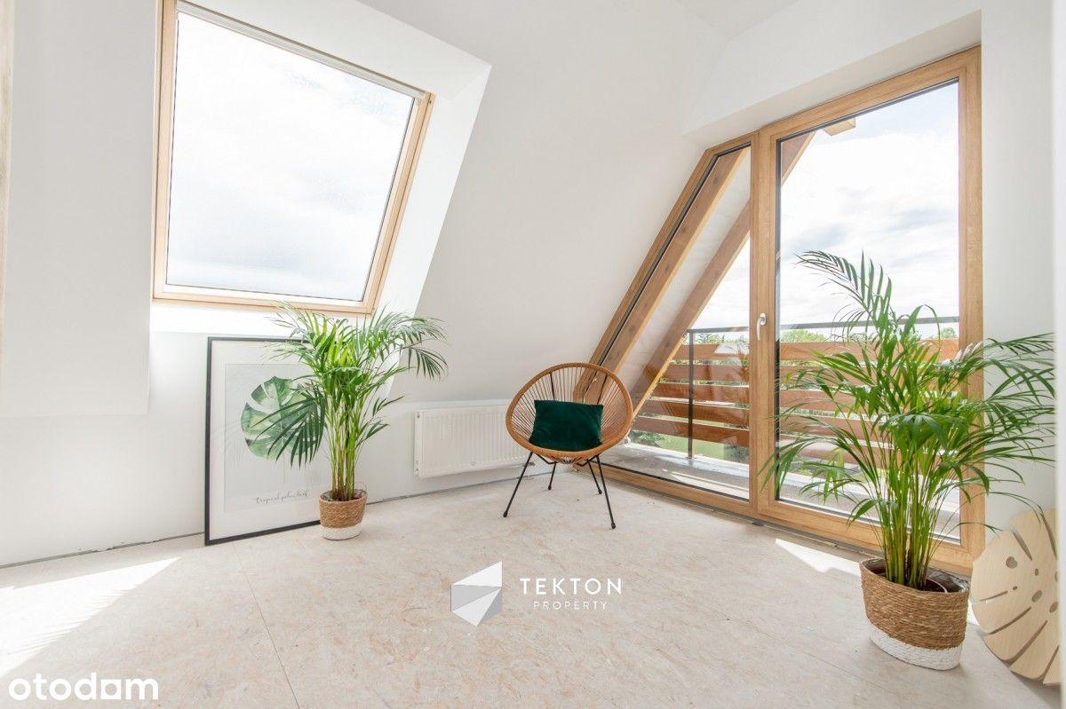 Słoneczne dwupoziomowe mieszkanie na Górczynie