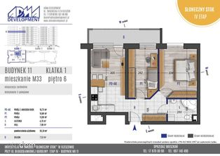 3 - pokojowe mieszkanie M33