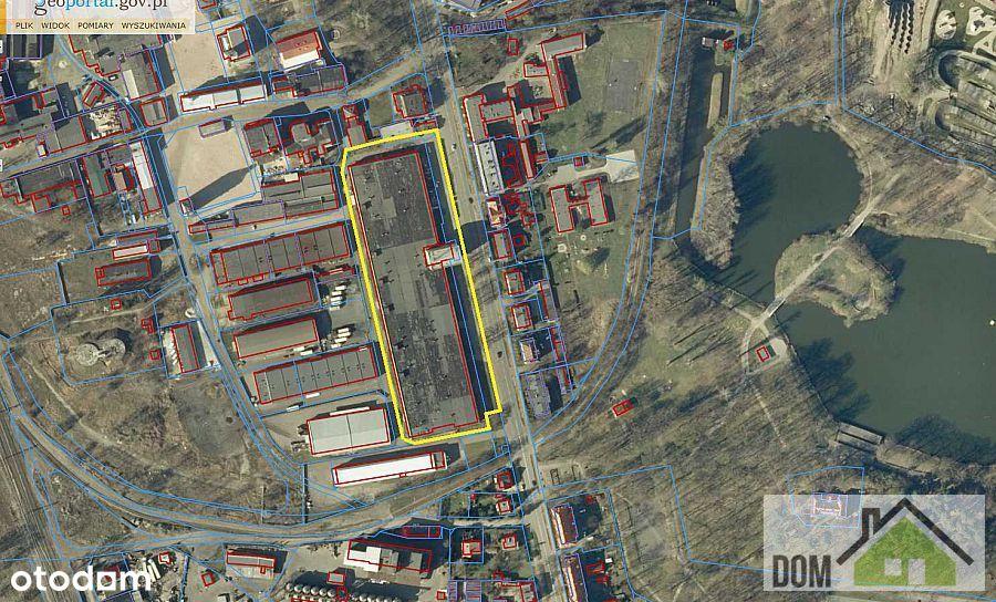 Hala, obiekt komercyjny 12 tyś. m2, N. Sól.