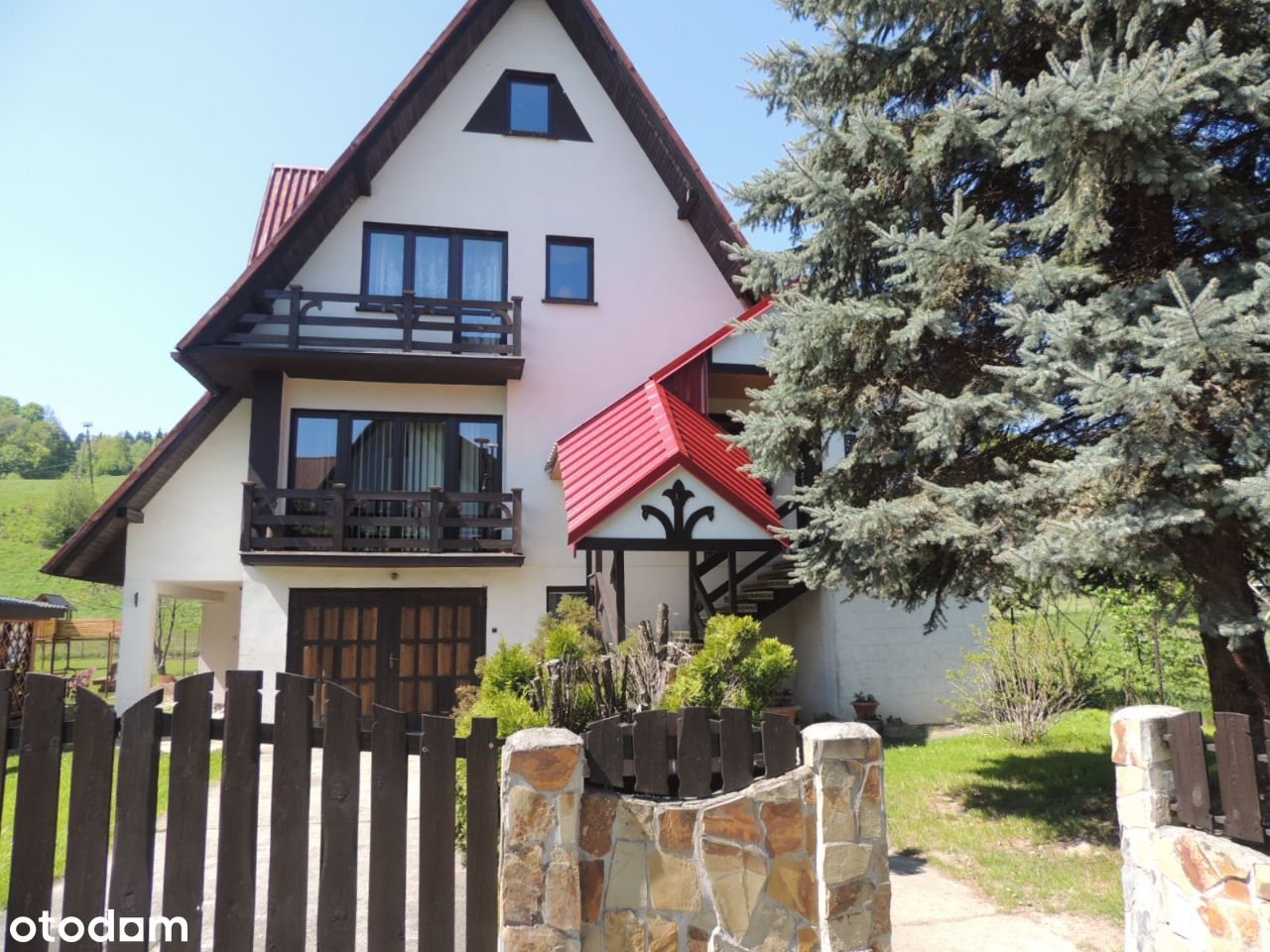 Dom w LASKOWEJ powiat Limanowski