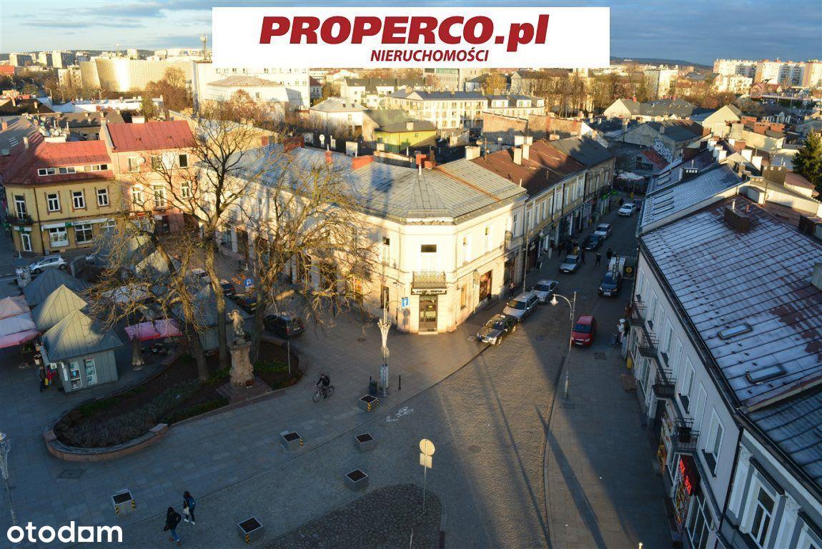 Kielce - Rynek, kamienica 870m2, działka 2232m2