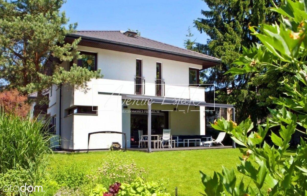 Unikatowy dom w sercu zielonego Ursynowa