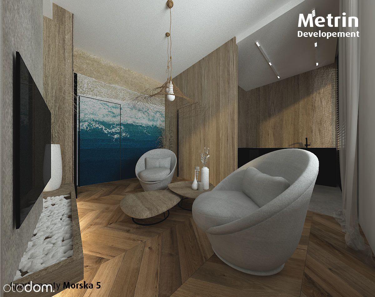 Apartament 2 pokojowy nad morzem*41,95m