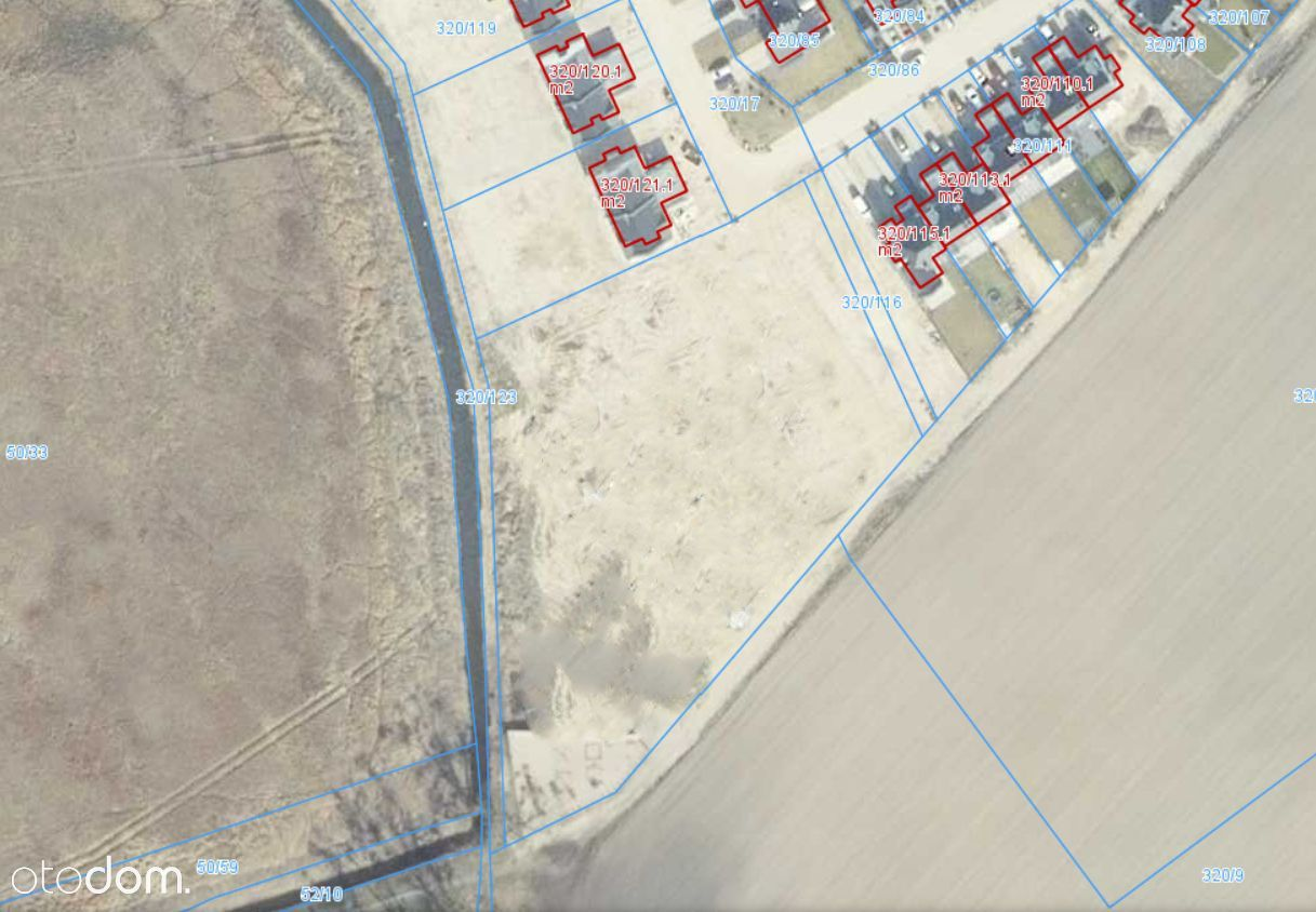 Baranowo, działka o powierzchni 5.100, pełne media