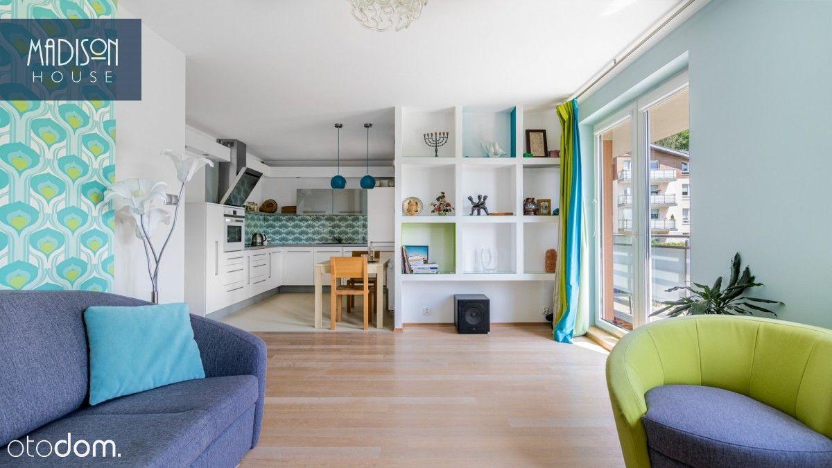 4-pokojowy apartament z tarasem i widokiem na las