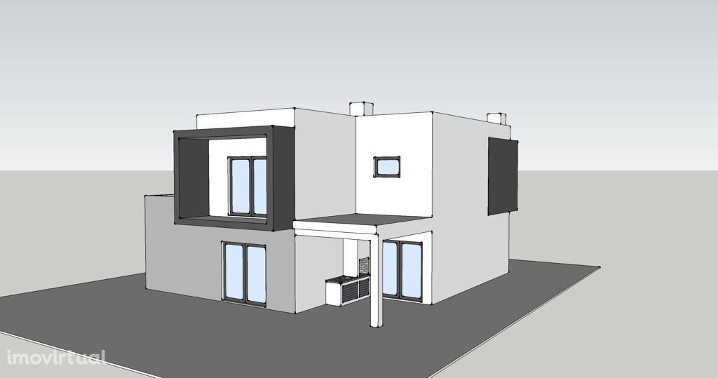 Moradia Isolada R/C e 1º andar, T4, Vila Nogueira de Azeitão