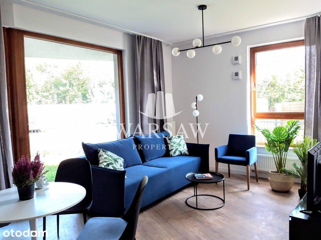 Karolkowa - nowy, 3 pokojowy apartament z ogrodem