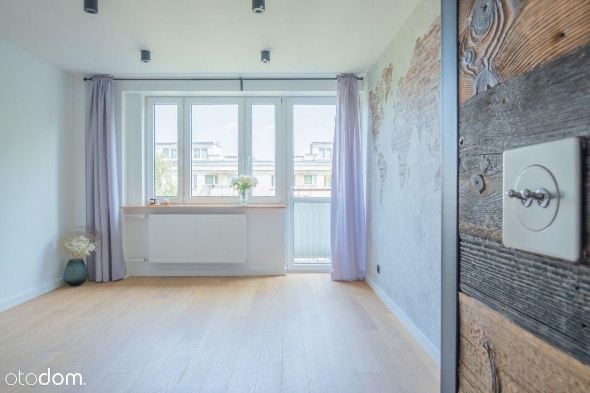 ciche nowe z klimatem 3 pokoje z balkonem Muranów