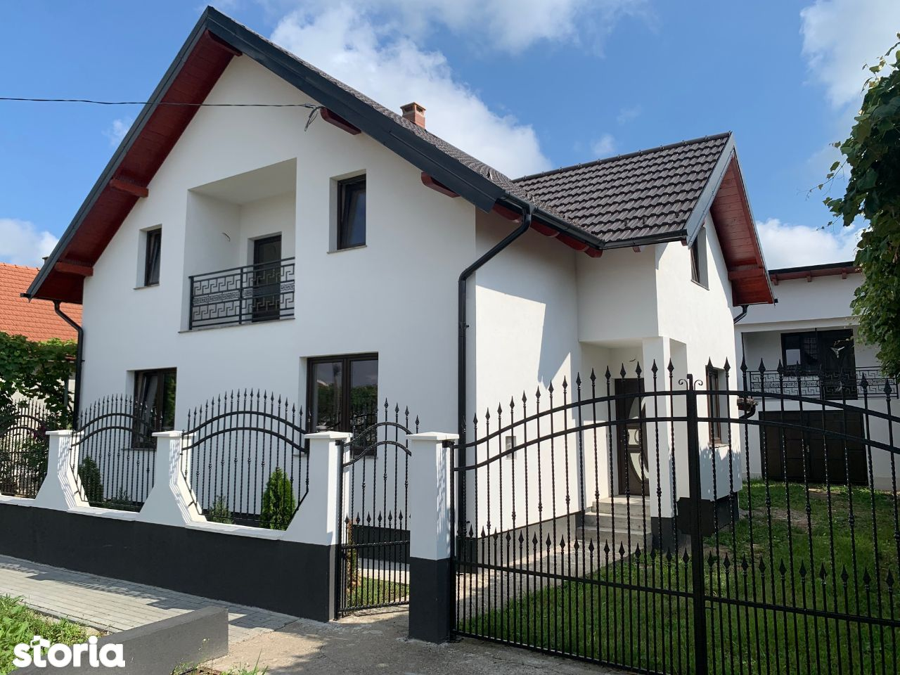 Casa Noua P+1 in Comuna BOTIZ Stadiu Semifinisat