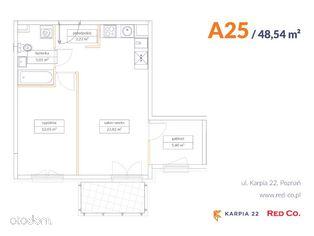 KARPIA 22, I etap, mieszkanie nr A 25