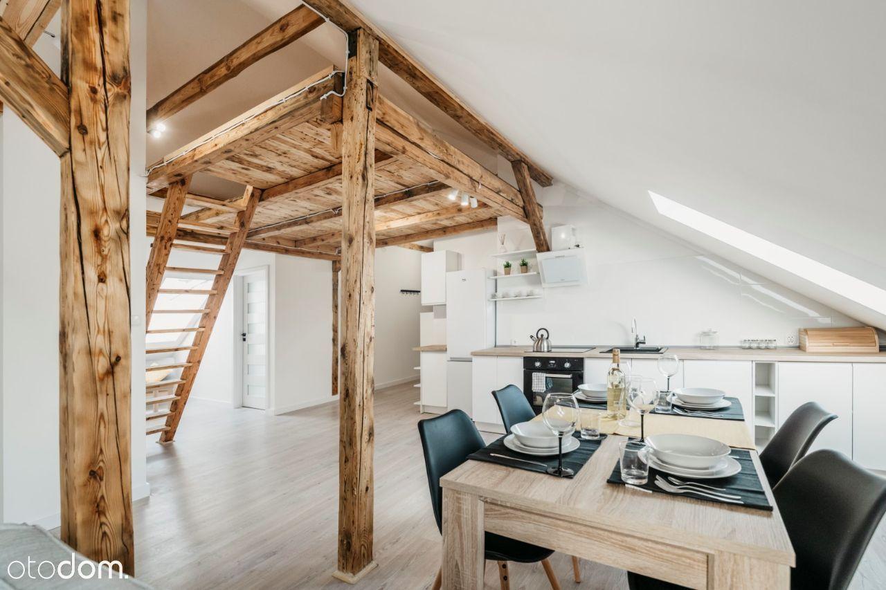 Wyjątkowe mieszkanie na poddaszu z antresolą