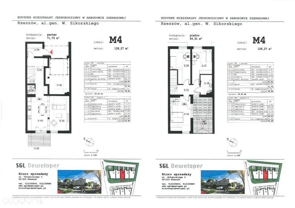 Dom w zabudowie szeregowej - M4 | budynek B