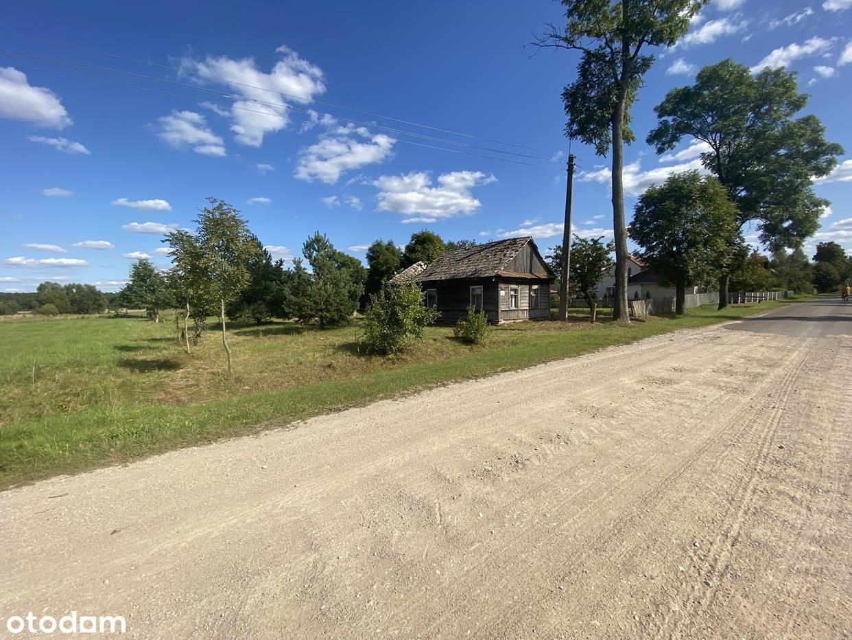 Mikłaszewo - urokliwa wieś w gm. Narewka, 1761 m2!