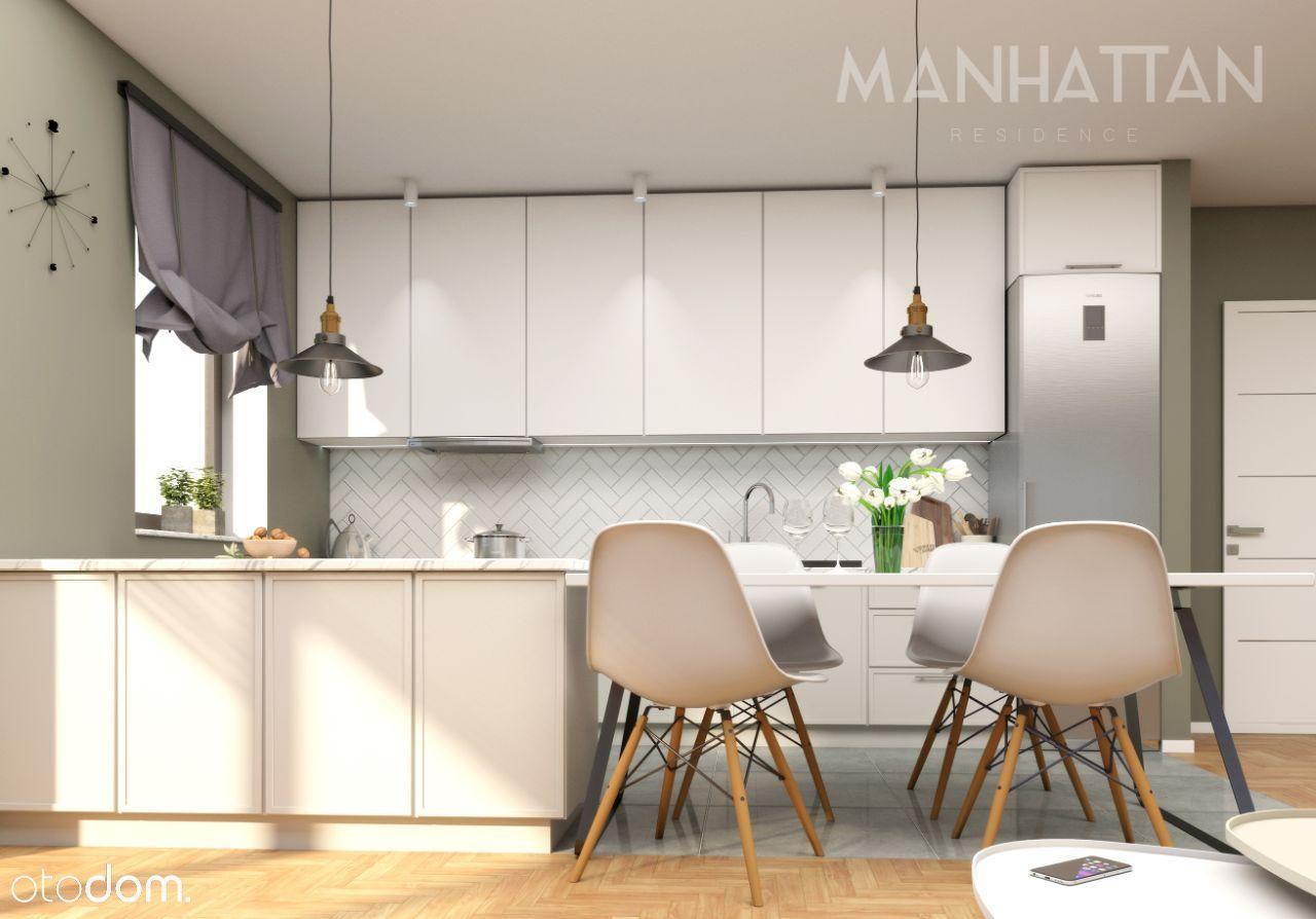 M12 Mieszkanie 50,61 mkw z tarasem rogowym