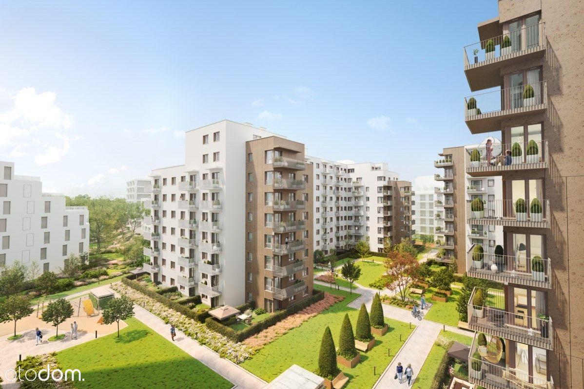 Idealne z dużym balkonem o pow. 18m2. MokoBotanika