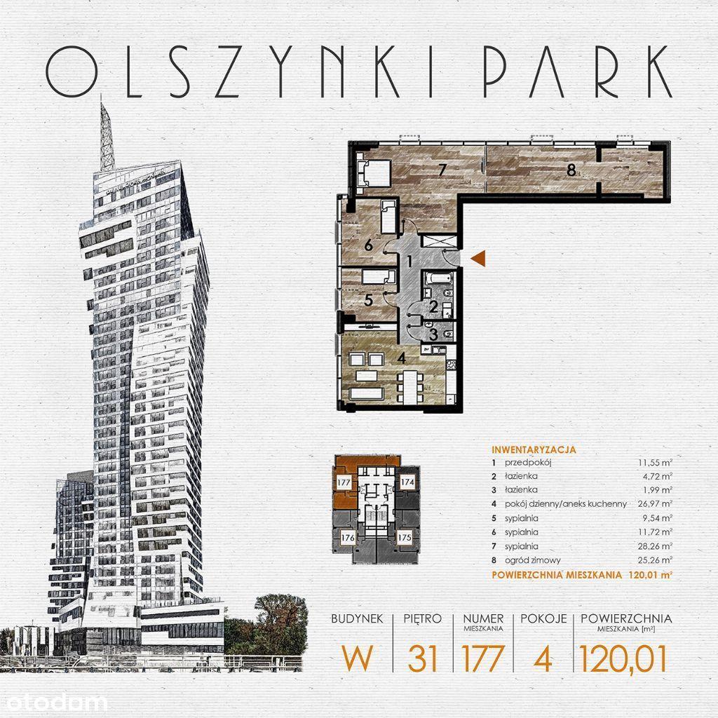 Olszynki Park - Apartament W177