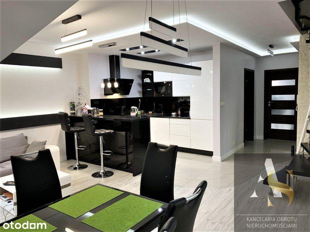 dwupoziomowe, nowoczesne mieszkanie, pow. 73,30 m2