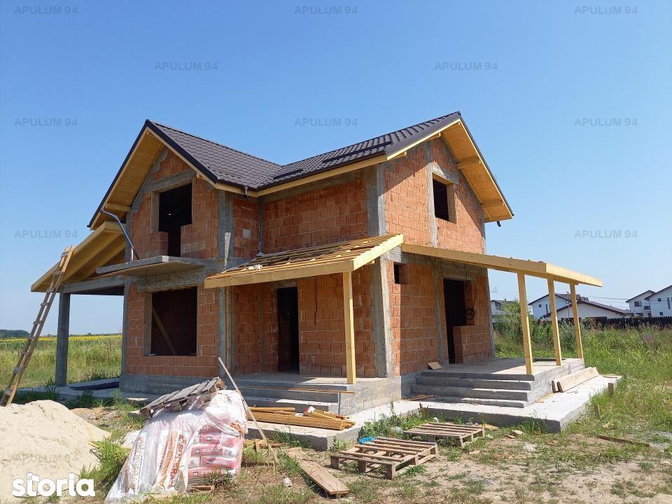 Casa noua, 4 camere P+M, 120 mp utili, curte 515 mp