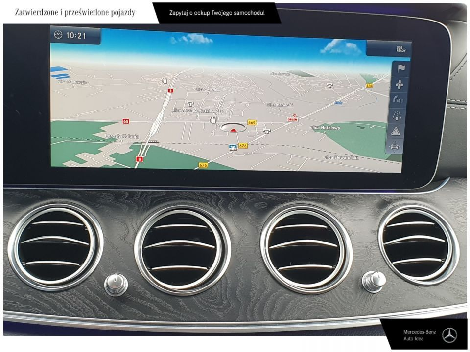 Mercedes-Benz Klasa E Mulibeam Led/distonic plus/Panorama/ FV 23% - 19