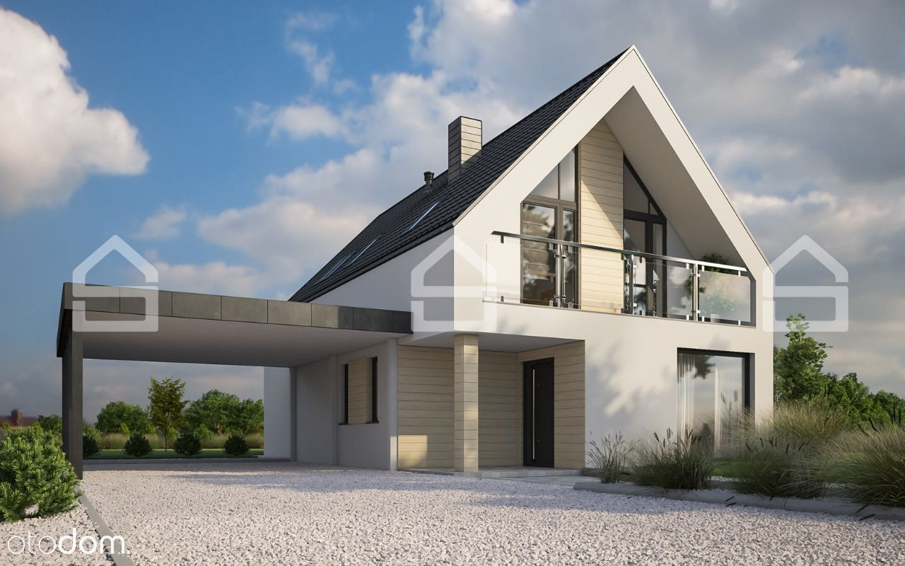 Energooszczędny i nowoczesny dom pod Warszawą