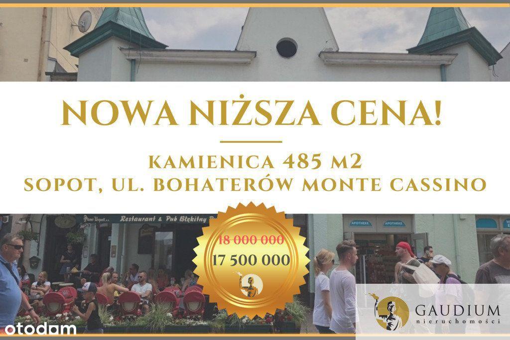 Lokal użytkowy, 485 m², Sopot