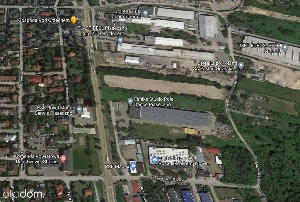 Piaseczno, działka usługowo-produkcyjna