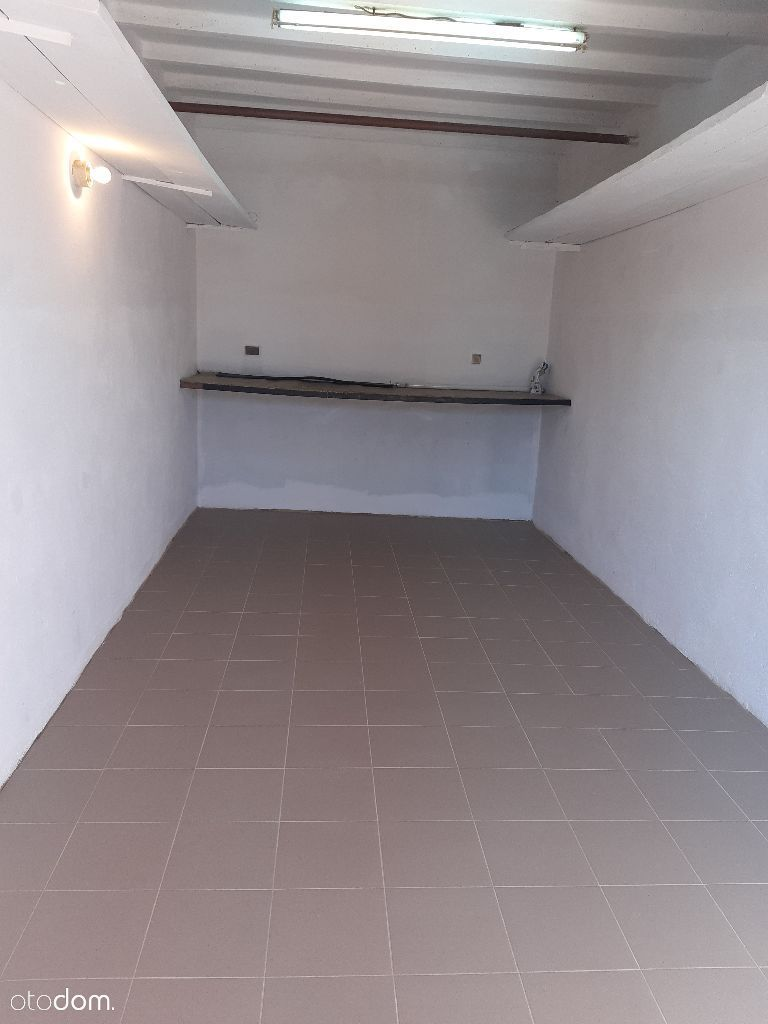 Duży Murowany Garaż 6x3 m przy ul. Witosa Gołaśka