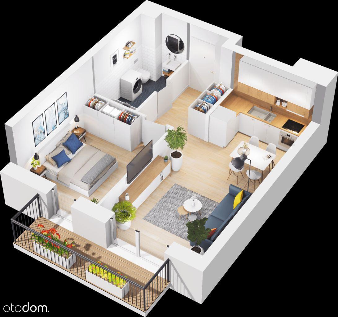 Mieszkanie 2-pokojowe w nowej inwestycji