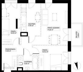 Mieszkanie B84 Harmonia+ Karpia 27