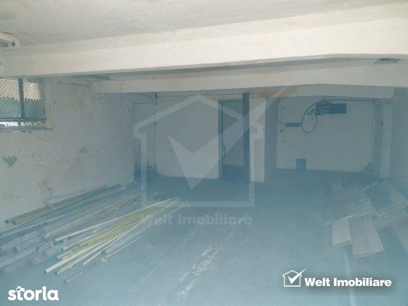 Depozit subsol 200mp in Clujana, acces auto, lift de marfa