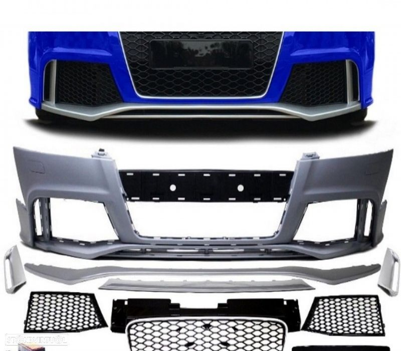 PÁRA-CHOQUES FRONTAL LOOK TTRS PARA AUDI TT COUPE / CABRIO 06-12 - 1
