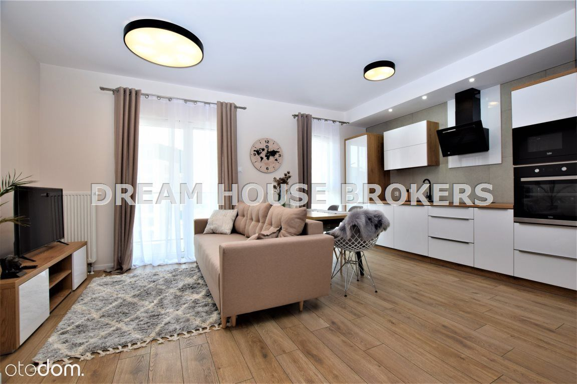 Piekny apartament 52m, 2 miejsca, Capital Towers!