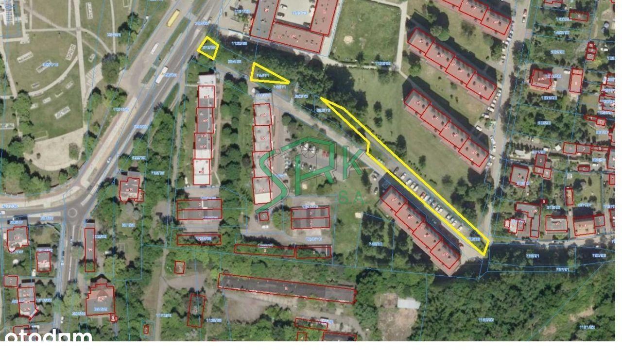 Działka, 1 359 m², Chorzów