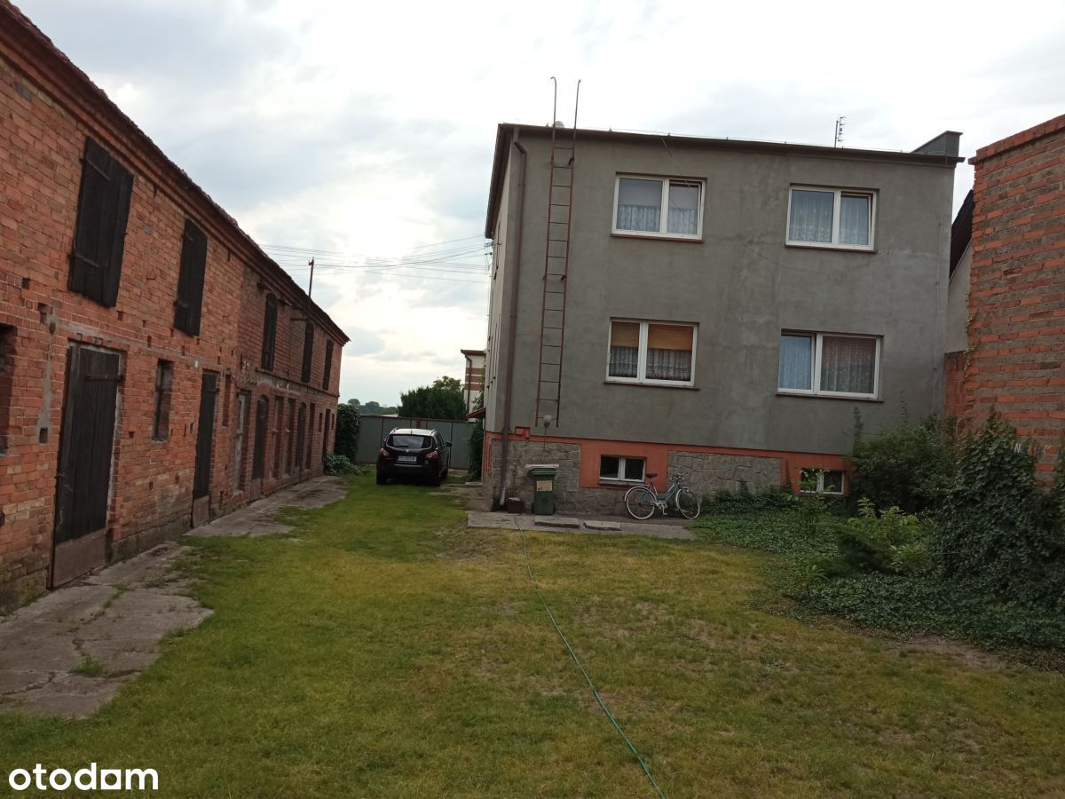 Dom z zabudowaniami i dużą działką koło Przemętu