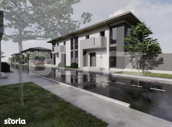 Duplex de vanzare, 250 mp teren, compartimentare practica, zona de...