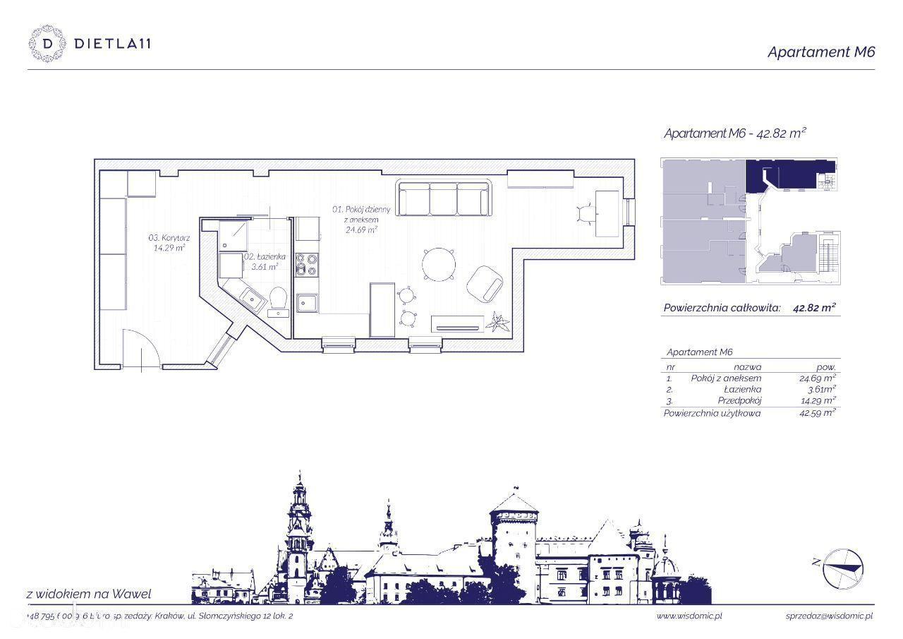 Apartament z potencjałem|Nawet 3 pokoje, 43 m2