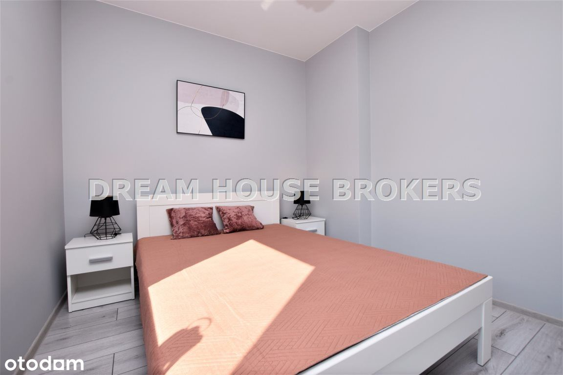 Nowe mieszkanie, 2 pokoje Strażacka 42 m2 Wynajem