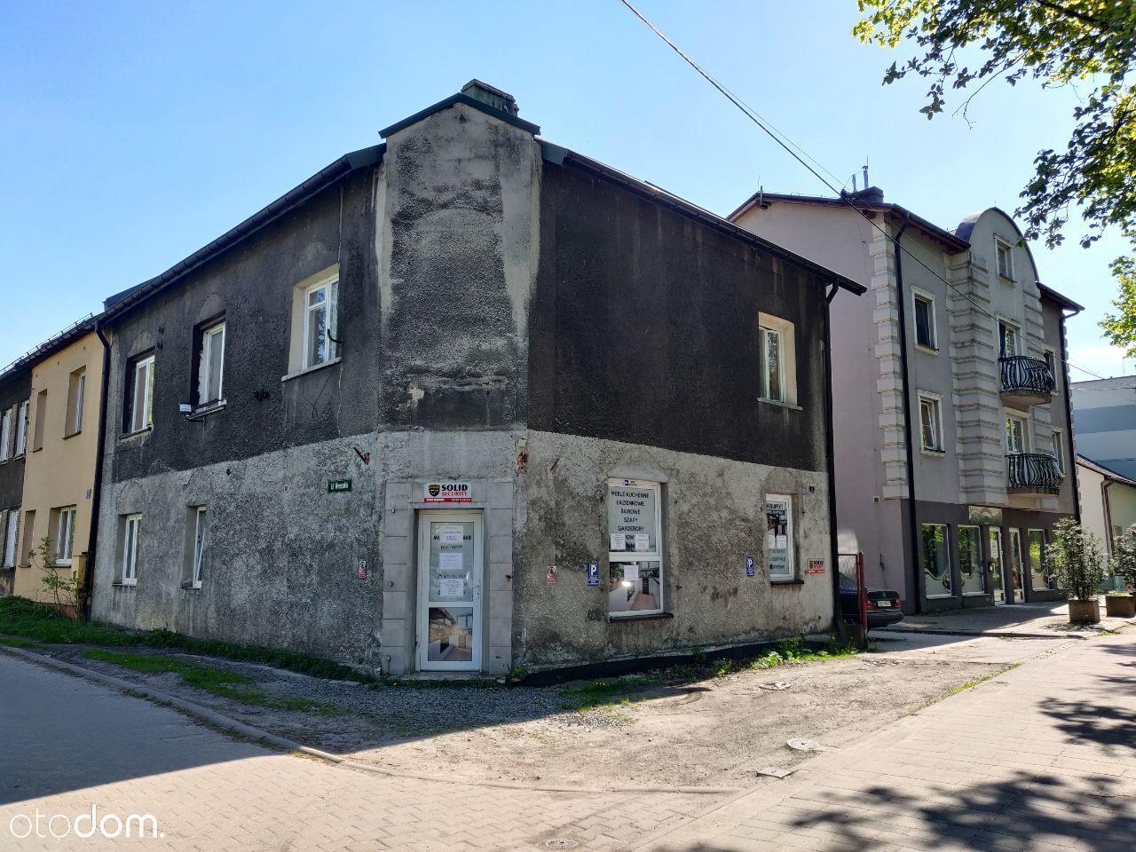 Mieszkanie i lokal użytkowy 100m2 parter domu