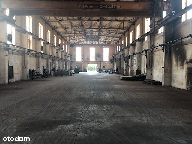 Oświęcim hale 2950 m2 z zapleczem