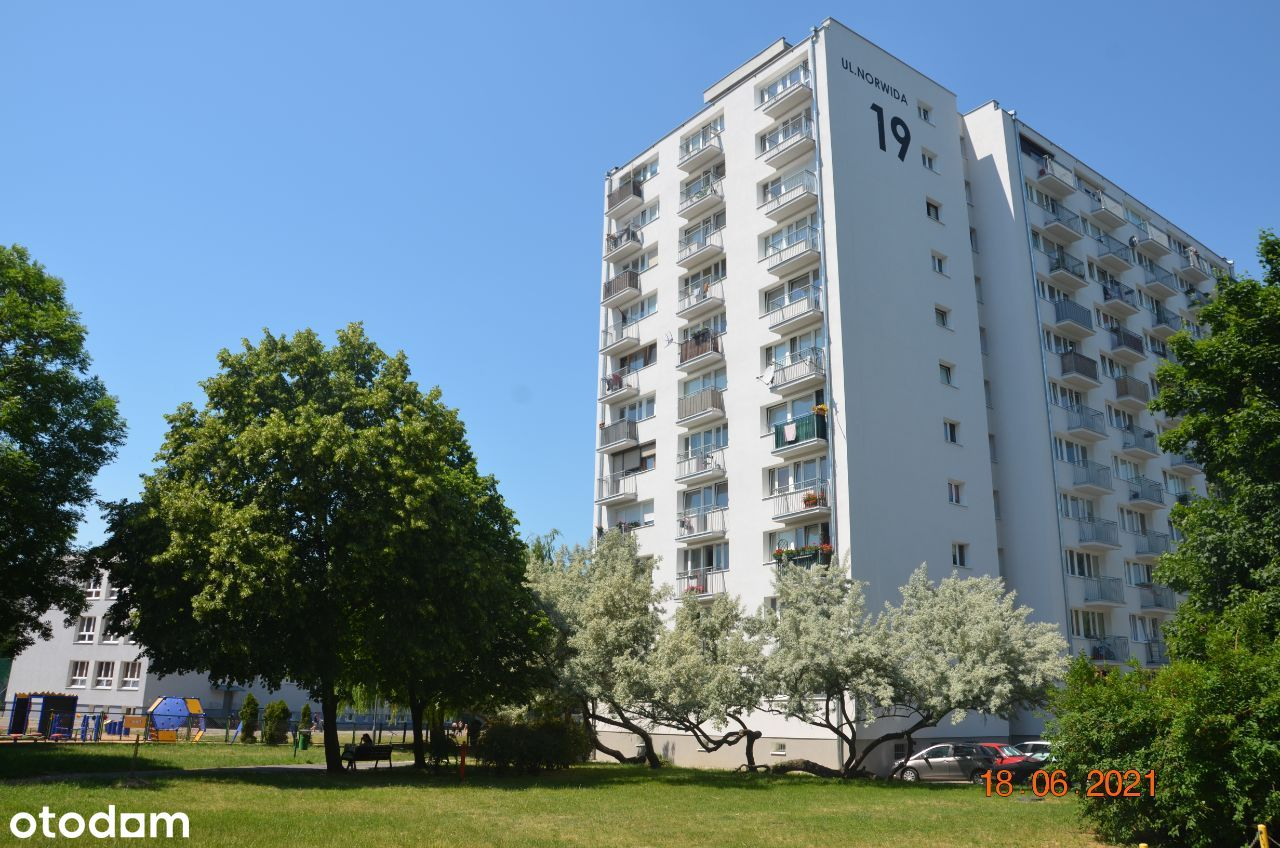 Mieszkanie na Jeżycach - ul. Norwida 19 - 48 m2