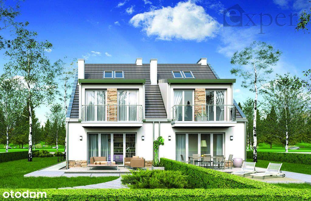 Nowe domy bliźniaki - działka 450 m2 - Grzędzice